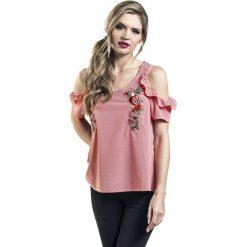 Bluzki damskie: Disney Princess Rosen Koszulka damska czerwony/biały