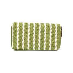 Puzderka: Kopertówka w kolorze zielonym – (S)20 x (W)11 x (G)3 cm