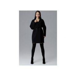 Płaszcz M625 Czarny. Czarne płaszcze damskie pastelowe FIGL, l, z tkaniny. Za 299,00 zł.