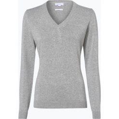 Brookshire - Sweter damski, szary. Czarne swetry klasyczne damskie marki brookshire, m, w paski, z dżerseju. Za 129,95 zł.