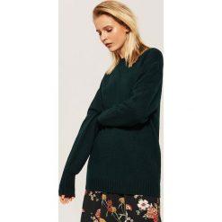 Gładki sweter - Khaki. Brązowe swetry klasyczne damskie marki House, l. Za 59,99 zł.