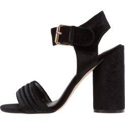 Sandały damskie: Miss Selfridge CAI Sandały na obcasie black