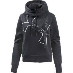Bluzy damskie: Under Armour Bluza damska Big Logo WM Cotton Hoodie czarna r. XS (1320608-001)