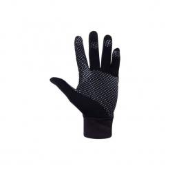 Rękawiczki Thermic. Czarne rękawiczki damskie marki ARTENGO, z bawełny. Za 29,99 zł.