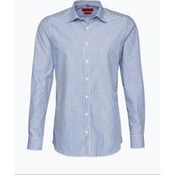 Finshley & Harding - Koszula męska, niebieski. Czarne koszule męskie marki Finshley & Harding, w kratkę. Za 129,95 zł.
