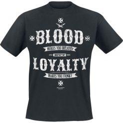 T-shirty męskie: Sons Of Anarchy Blood Loyalty T-Shirt czarny