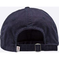 Napapijri - Czapka. Szare czapki z daszkiem męskie marki Napapijri, z bawełny. Za 169,90 zł.
