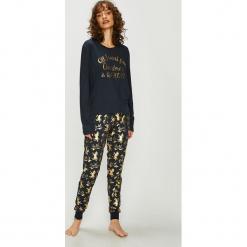 Chelsea Peers - Piżama Christmas Unicorn. Szare piżamy damskie Chelsea Peers, l, z nadrukiem, z dzianiny. Za 179,90 zł.