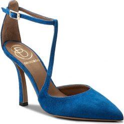Sandały damskie: Szpilki BALDOWSKI - D02212-7137-002 Zamsz Girottic