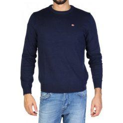 Napapijri Sweter Męski L Ciemny Niebieski. Szare swetry klasyczne męskie marki Napapijri, l, z materiału, z kapturem. Za 479,00 zł.