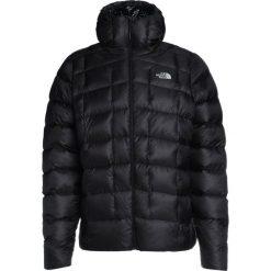 The North Face SUPERCINCO Kurtka puchowa tnf black. Szare kurtki sportowe męskie marki The North Face, l, z materiału, z kapturem. W wyprzedaży za 624,50 zł.