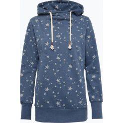 Marie Lund - Damska bluza nierozpinana, niebieski. Niebieskie bluzy z nadrukiem damskie Marie Lund, s, z bawełny. Za 149,95 zł.