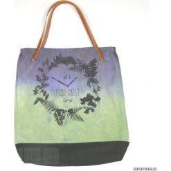 Torba: Forest - jasny zielony. Zielone shopper bag damskie Pakamera. Za 66,00 zł.
