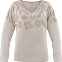 Bluzki damskie: Koszulka w kolorze brązowoszarym