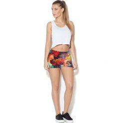 Colour Pleasure Spodnie damskie CP-020 249 czerwone r. 3XL/4XL. Czerwone spodnie sportowe damskie marki Colour pleasure, xl. Za 72,34 zł.