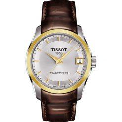 PROMOCJA ZEGAREK TISSOT Couturier Automatic Lady T035.207.26.031.00. Szare zegarki damskie TISSOT, ze stali. W wyprzedaży za 2195,61 zł.
