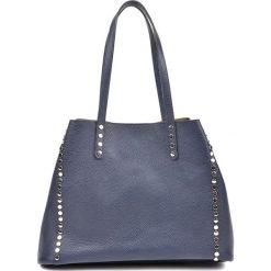 Torebka w kolorze granatowym - (S)37 x (W)26 x (G)17 cm. Niebieskie torebki klasyczne damskie Bestsellers bags, z materiału. W wyprzedaży za 319,95 zł.