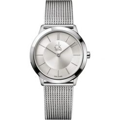 ZEGAREK CALVIN KLEIN MINIMAL MIDSIZE K3M22126. Szare zegarki męskie Calvin Klein, szklane. Za 849,00 zł.