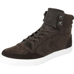 Hummel Stadil Winter Buty sportowe brązowy. Brązowe buty skate męskie marki Hummel, z materiału, na sznurówki. Za 324,90 zł.