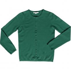Kaszmirowy kardigan w kolorze zielonym. Zielone kardigany damskie marki Ateliers de la Maille, z kaszmiru. W wyprzedaży za 318,95 zł.
