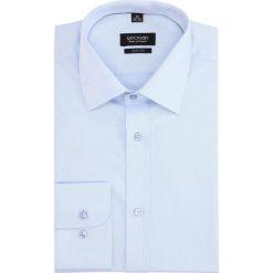 Koszule męskie: koszula versone 2322 długi rękaw slim fit niebieski