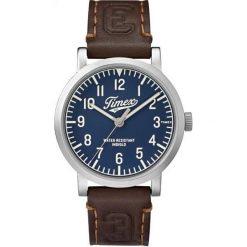 Zegarek Timex Męski TW2P96600 Originals University brązowy. Brązowe zegarki męskie Timex. Za 324,70 zł.