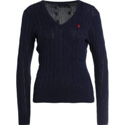 Swetry klasyczne damskie: Polo Ralph Lauren KIMBERLY Sweter hunter navy