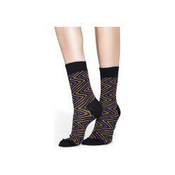 Skarpetki Happy Socks  ZGY01-9000. Czerwone skarpetki męskie Happy Socks, z bawełny. Za 13,90 zł.