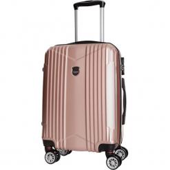 Walizka w kolorze jasnoróżowym - 70 l. Czerwone walizki Bagstone & Travel One, z materiału. W wyprzedaży za 199,95 zł.