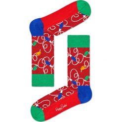 Happy Socks - Skarpetki Lamp. Czerwone skarpetki damskie marki DOMYOS, z elastanu. Za 39,90 zł.