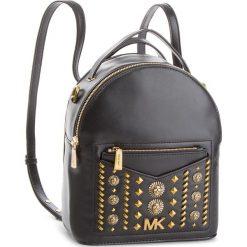 Plecak MICHAEL MICHAEL KORS - Jessa 30T8AEVB5O Black. Czarne plecaki damskie MICHAEL Michael Kors, ze skóry, eleganckie. W wyprzedaży za 1219,00 zł.