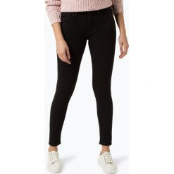 Pepe Jeans - Jeansy damskie – Regent, czarny. Czarne spodnie z wysokim stanem Pepe Jeans, z jeansu. Za 439,95 zł.