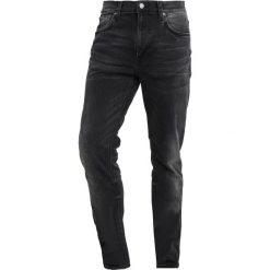 Nudie Jeans LEAN DEAN Jeansy Slim Fit black sage. Czarne jeansy męskie relaxed fit marki Criminal Damage. Za 579,00 zł.