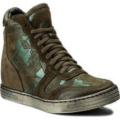 Sneakersy damskie: Sneakersy ROBERTO – 588 Zielony