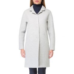 Płaszcz damski 83-9W-105-8L. Białe płaszcze damskie marki Wittchen, l, z materiału. Za 499,00 zł.