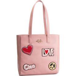 Torebka LOVE MOSCHINO - JC4081PP17LJ0600 Rosa. Czerwone torebki klasyczne damskie Love Moschino, ze skóry ekologicznej. Za 909,00 zł.