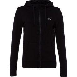 Bluzy rozpinane damskie: Only Play ONPLINA ZIP HOOD Bluza rozpinana black