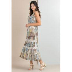 Odzież damska: Sukienka maxi w stylu boho
