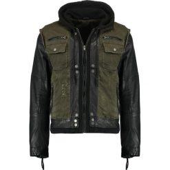 Kurtki męskie bomber: Be Edgy BEMAX D Kurtka jeansowa khaki/black