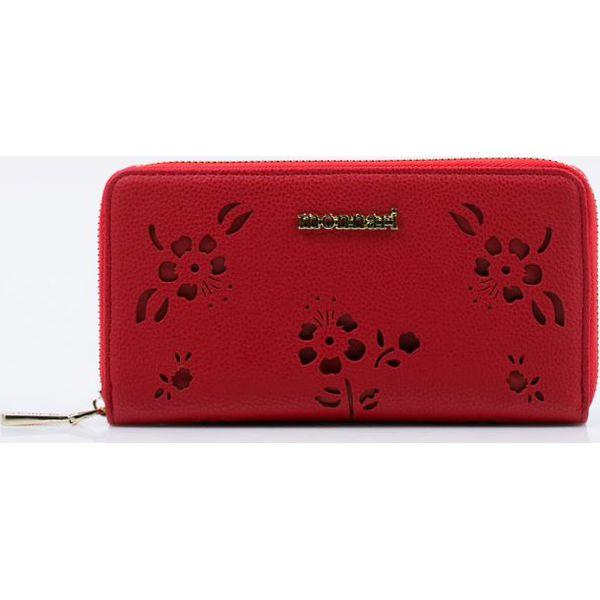 e3c9070ce541c Portfel z ażurowym wzorem kwiatowym - Czerwone portfele damskie ...