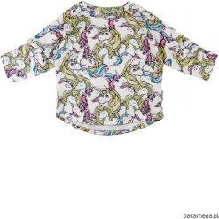 Bluza Unicorn. Szare bluzy dziewczęce rozpinane marki Pakamera, z bawełny. Za 60,00 zł.