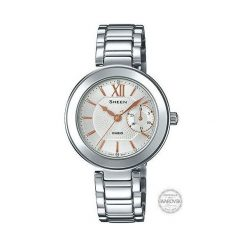 Zegarek Casio Damski SHE-3050D-7AUER Sheen Swarovski Data. Szare zegarki damskie CASIO. Za 409,00 zł.