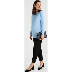 Swetry klasyczne damskie: Slacks & Co. THERESA Sweter blue