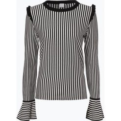 Swetry klasyczne damskie: BOSS Casual - Sweter damski z dodatkiem kaszmiru – Idindy, niebieski