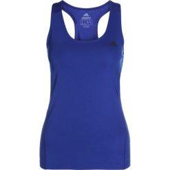 Adidas Performance ALPHASKIN TANK Koszulka sportowa mystery ink. Niebieskie t-shirty damskie adidas Performance, xxl, z elastanu. Za 129,00 zł.