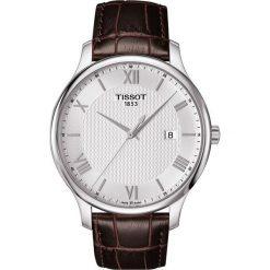 PROMOCJA ZEGAREK TISSOT T - CLASSIC T063.610.16.038.00. Szare zegarki męskie TISSOT, ze stali. W wyprzedaży za 1012,00 zł.