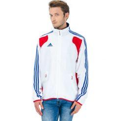 Bejsbolówki męskie: Bluza w kolorze biało-czerwono-niebieskim