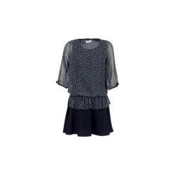 Sukienki krótkie Molly Bracken  VAMI. Czarne sukienki hiszpanki Molly Bracken, m, z krótkim rękawem, mini. Za 175,20 zł.