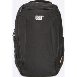 Caterpillar - Plecak. Czarne plecaki męskie Caterpillar, w paski, z poliesteru. W wyprzedaży za 159,90 zł.