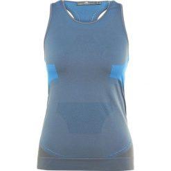 Adidas by Stella McCartney TRAIN TANK Top granite. Szare topy sportowe damskie adidas by Stella McCartney, s, z elastanu. Za 379,00 zł.